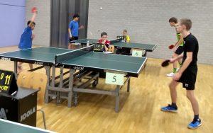 Uitgesteld: Afdelingskampioenschappen lagere jeugd @ TTV Hilversum